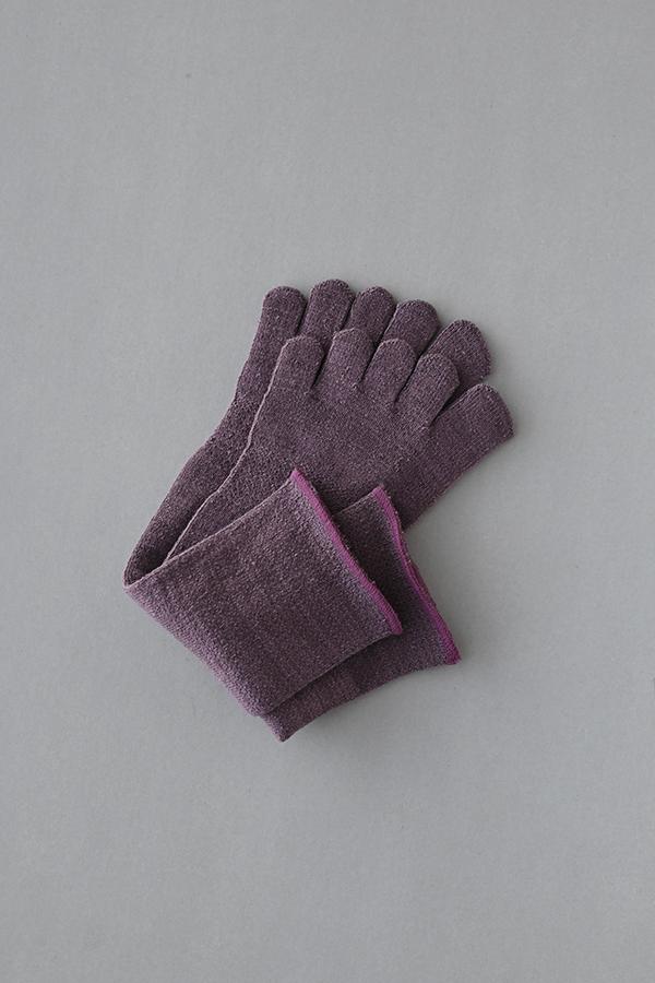 五本指「足の肌着」 絹と綿