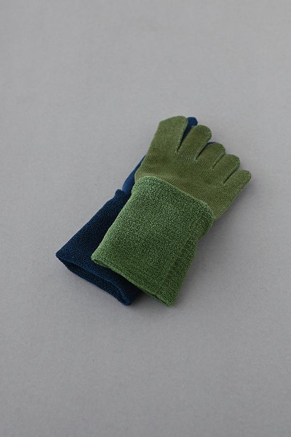 五本指「足の肌着」 絹とウール