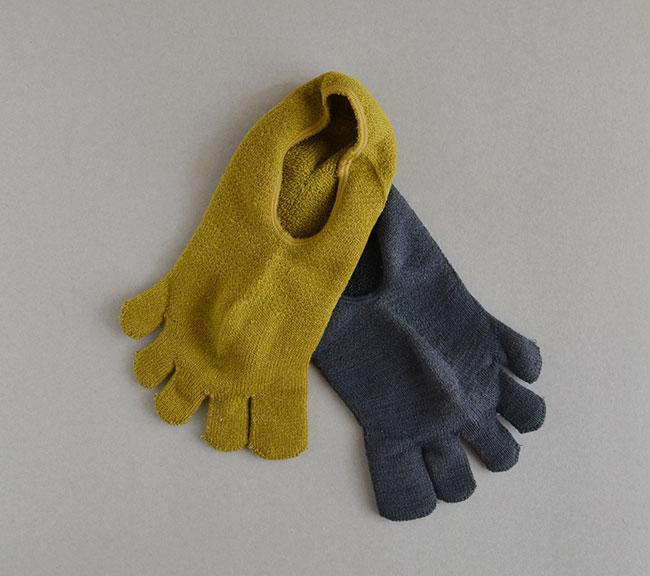 新作 5-Toe short Socks