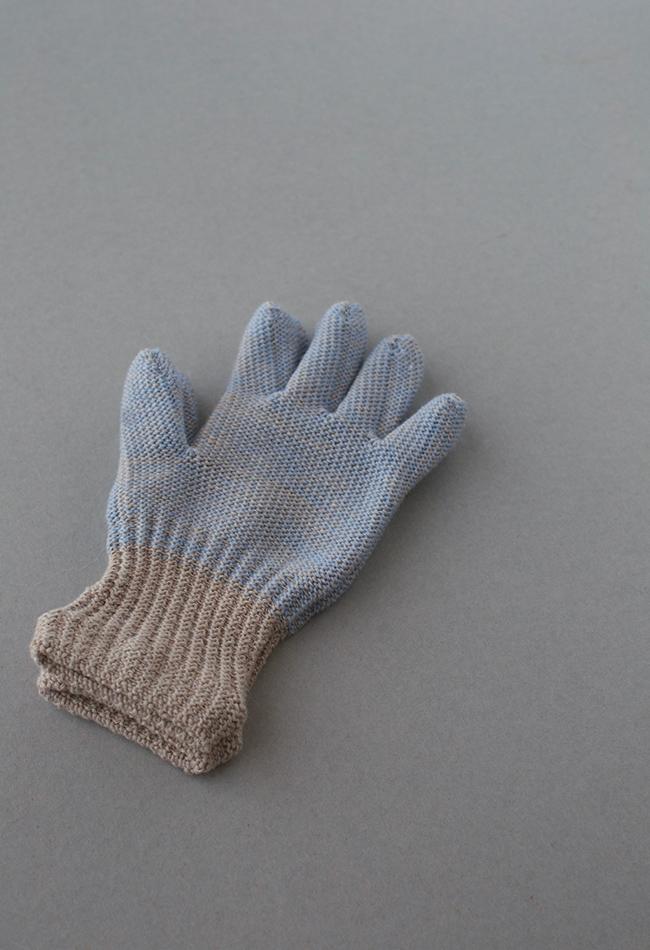 オーガニックコットンと ウールの手袋   for  Kids