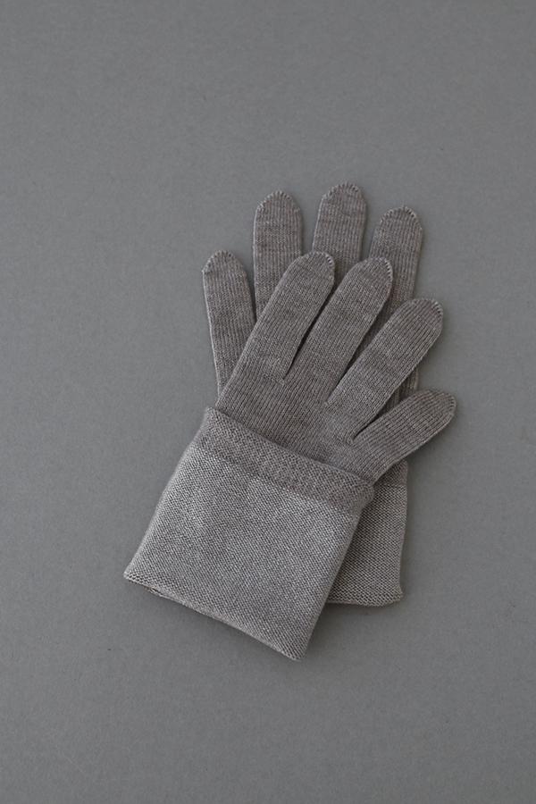 カシミヤ混シルク二層手袋 for Women